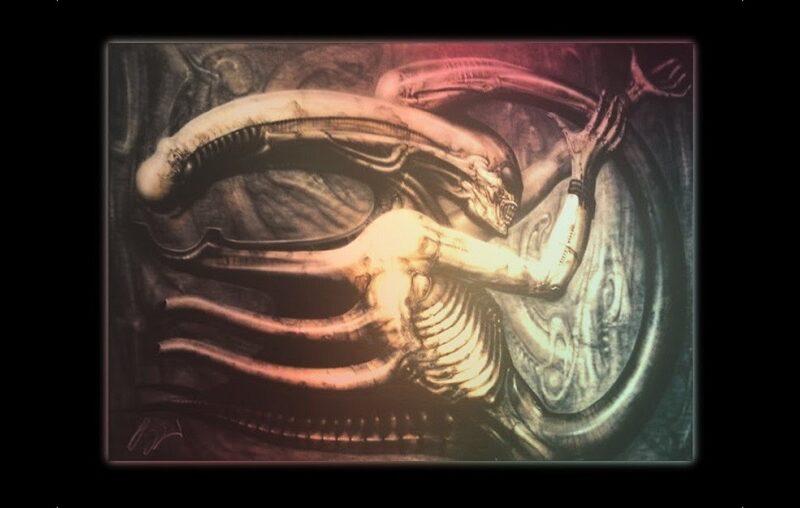 Alien obra Necronom IV