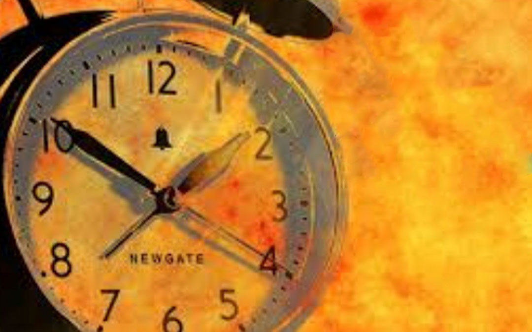 Time – Where does it go?!