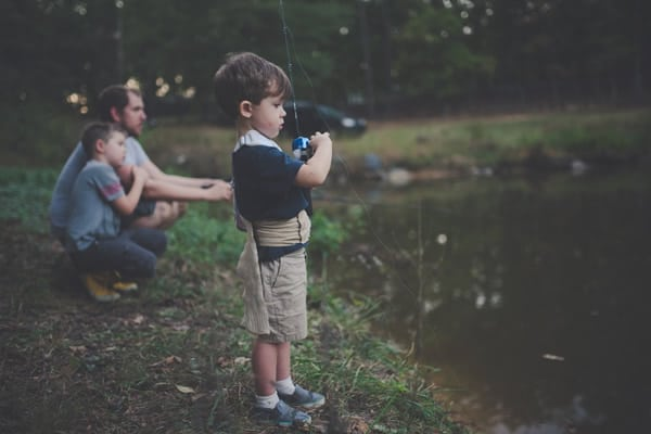 Fishing for Father's Day