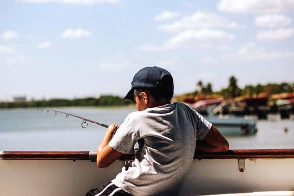 Summer Fishing in Glaveston TX