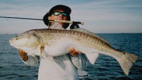 Redfish Fishing Charter in Galveston TX