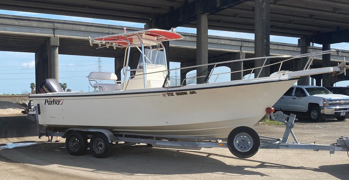 24' Parker Fishing Boat Galveston Deep Sea Fishing - Just Cast Charters