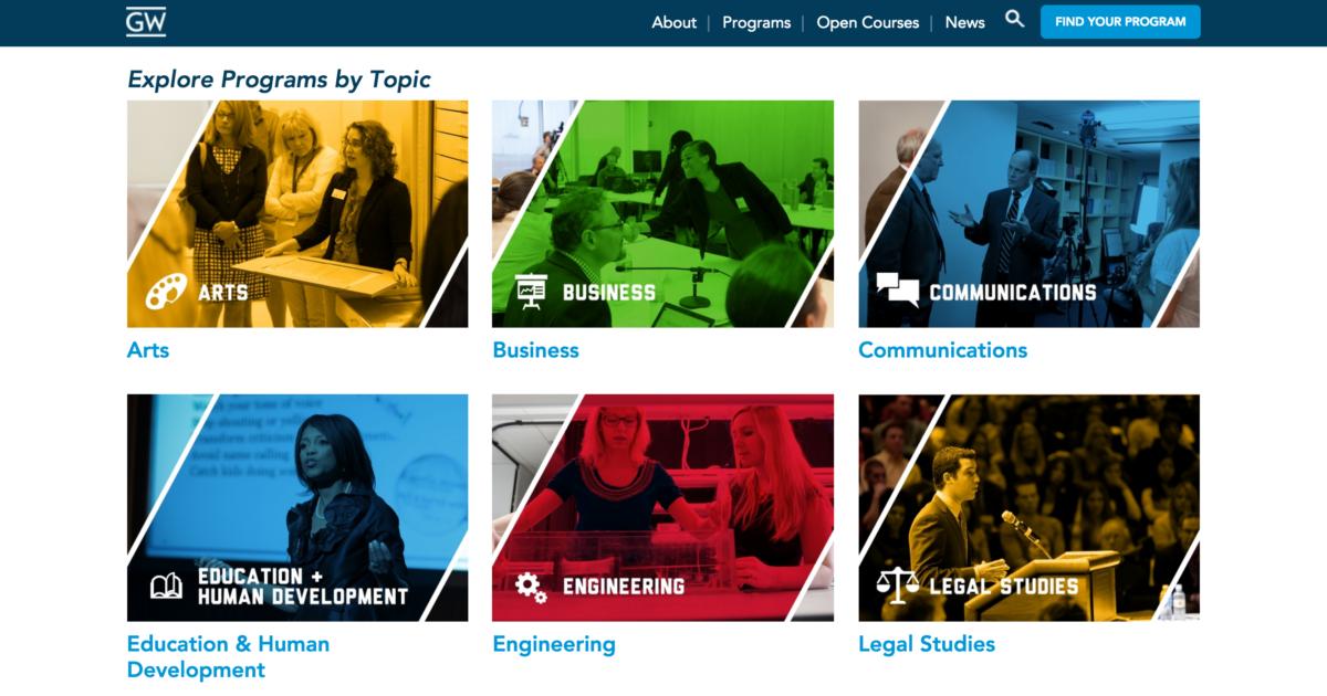 GW Online Programs