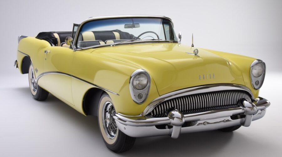 Buick Skylark Yellow Convertible 1000x667