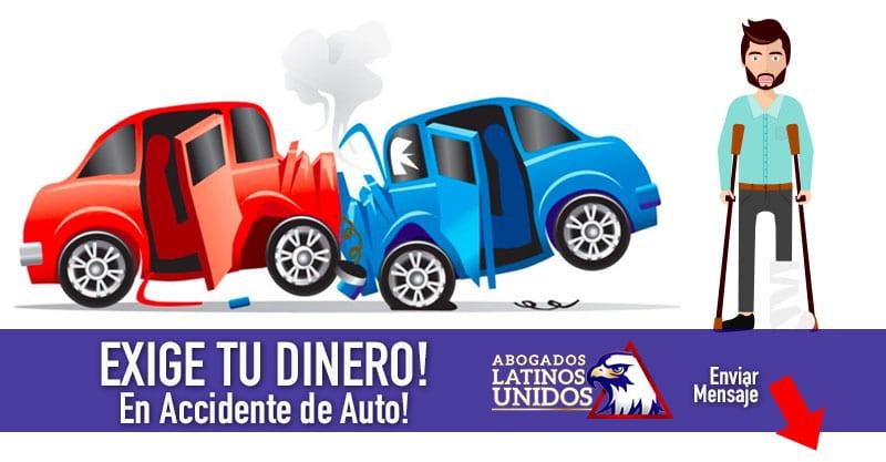 En 24hrs Podemos Reclamar tu $$ en Accidente de Auto