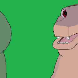 Dink and Littlefoot Drawing