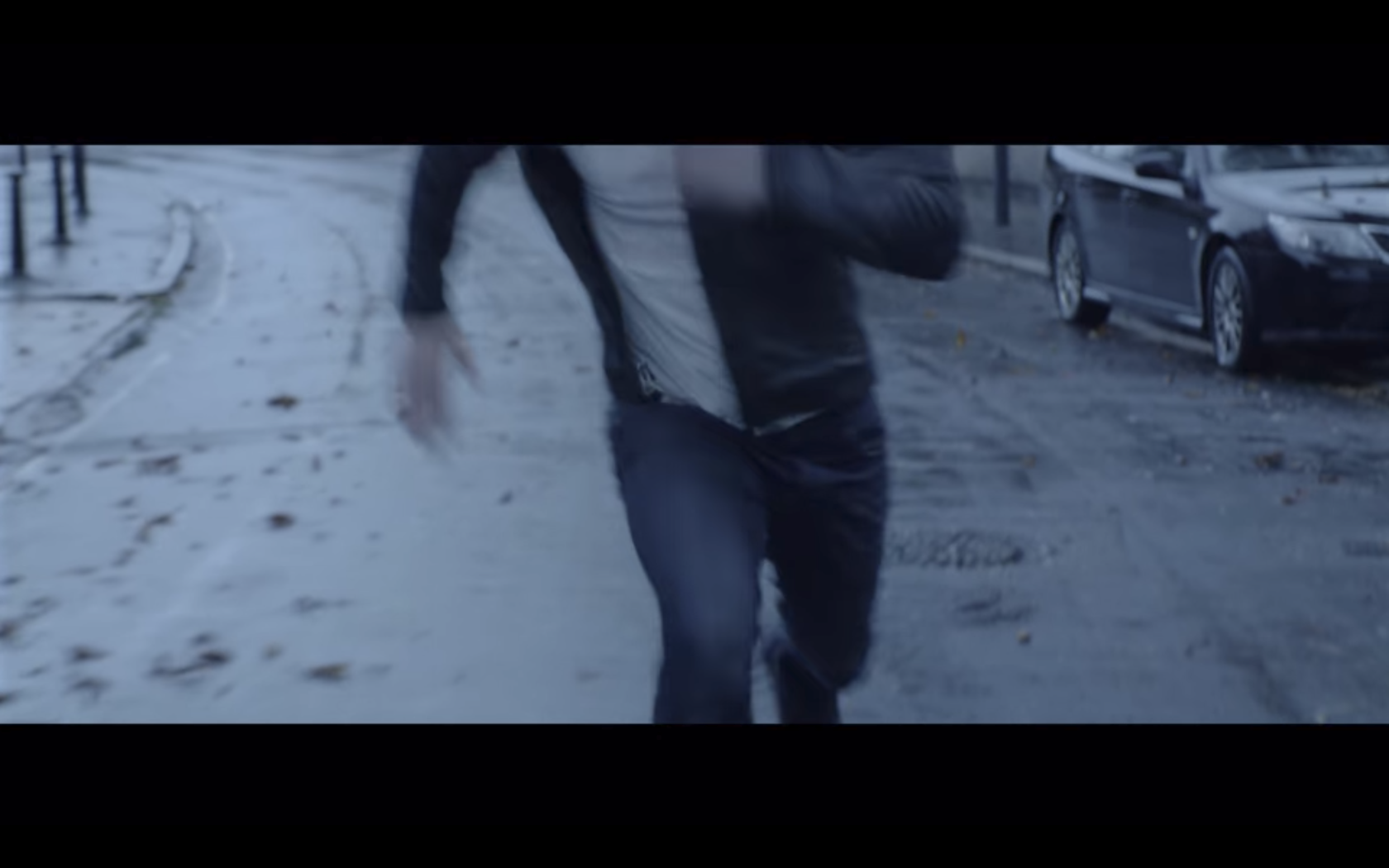 Steve Running legs and torso