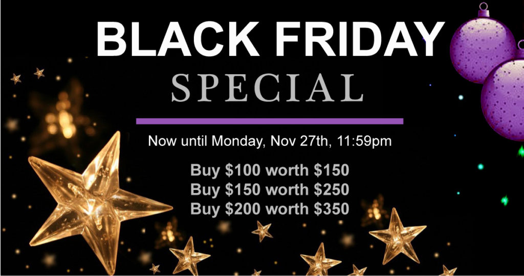 black friday special Montclair Massage