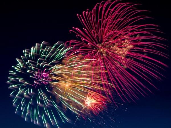Fireworks in Montclair   Hoboken NJ