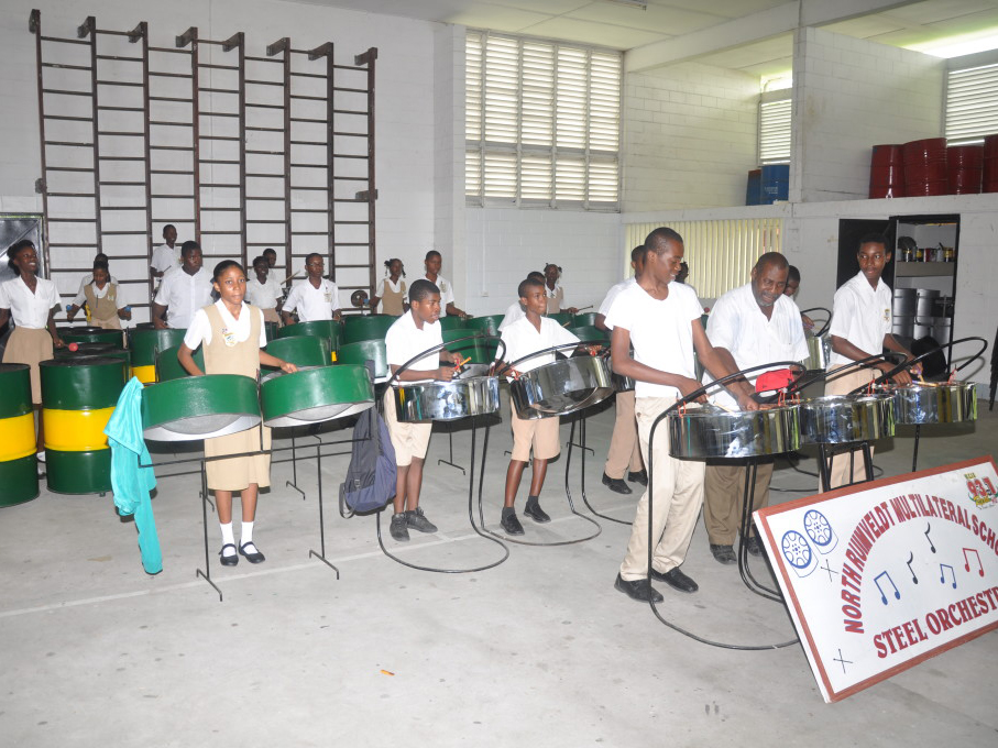 NRMSS steel band
