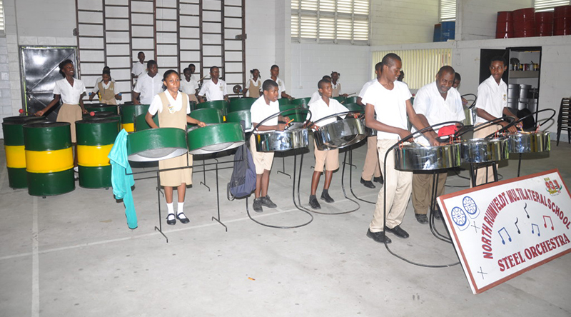 New Steel Band Instruments 2015