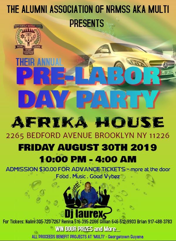 Pre Labor Day Party