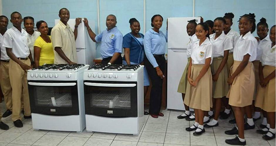 Appliances for Home Economics Department