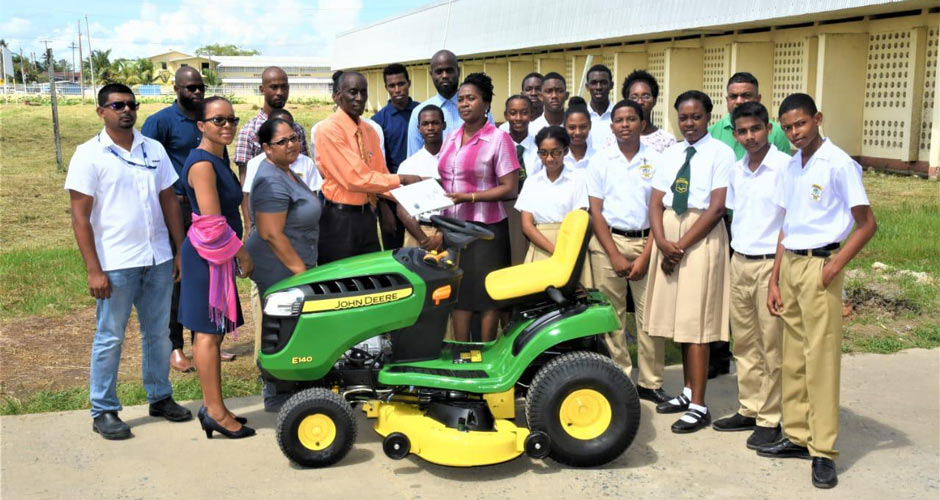 Tractor Donated in November 2019