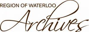 Region of Waterloo Archives logo