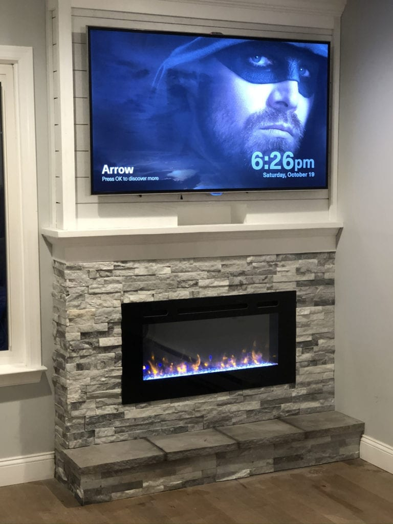 Allusion Electric Fireplace by Simplifire