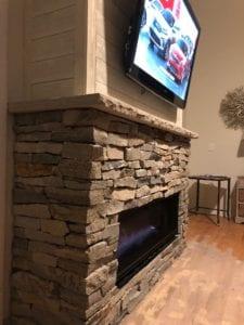 Mezzo Contemporary Fireplace by Heat N Glo