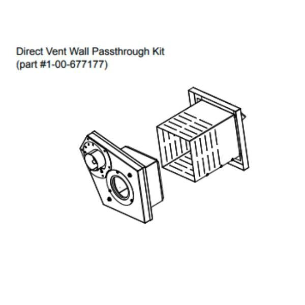 1-00-677177- Direct-vent pass through