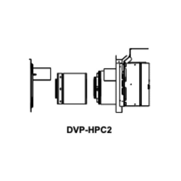 DVP-HPC2 Horizontal high performance termination cap
