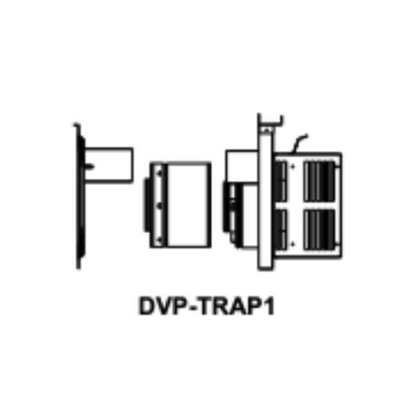 DVP-TRAP1 Horizontal termination cap