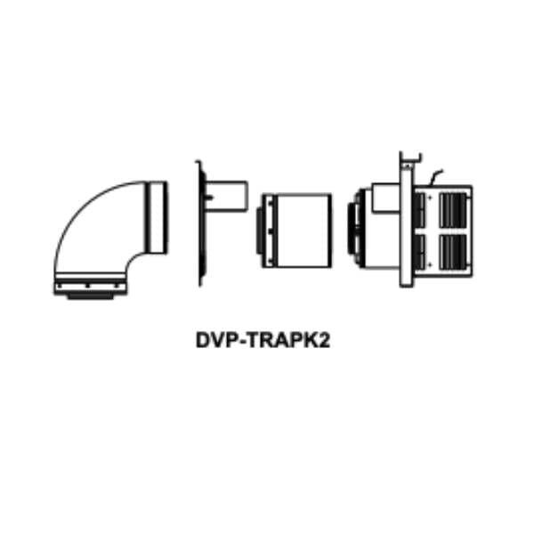 DVP-TRAPK2 Horizontal termination kit