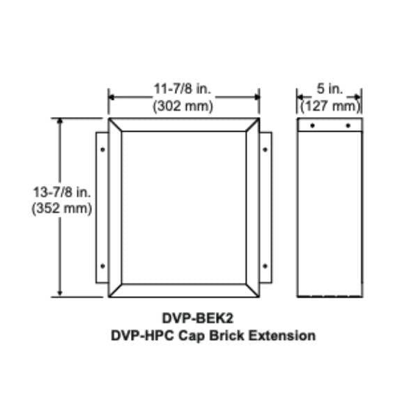Dvp Brick extension kit- dvp-bek2