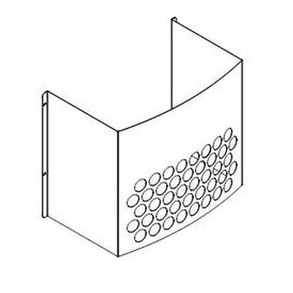 Low Profile Power Vent Heat Shield