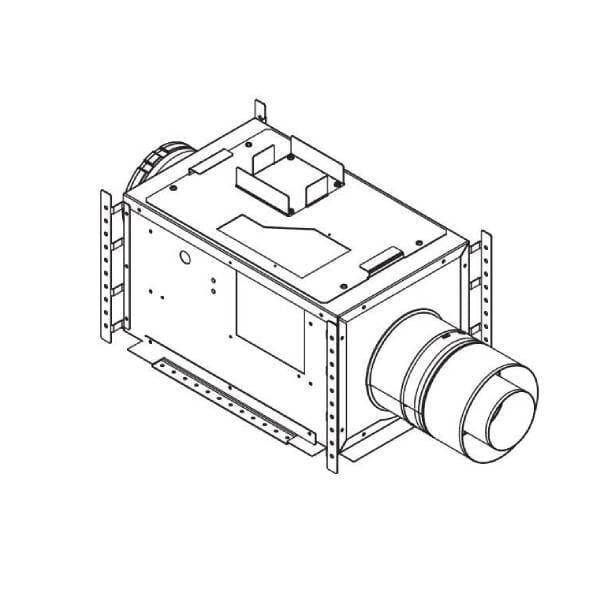 PVI-SLP-B Power Vent Inline System