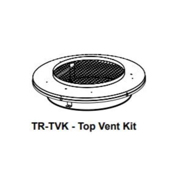 Round termination top adaptor kit for shrouds