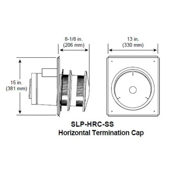 slp-hrc Horizontal Termination CAp