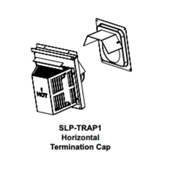 slp-trap1 Horizontal Termination Cap