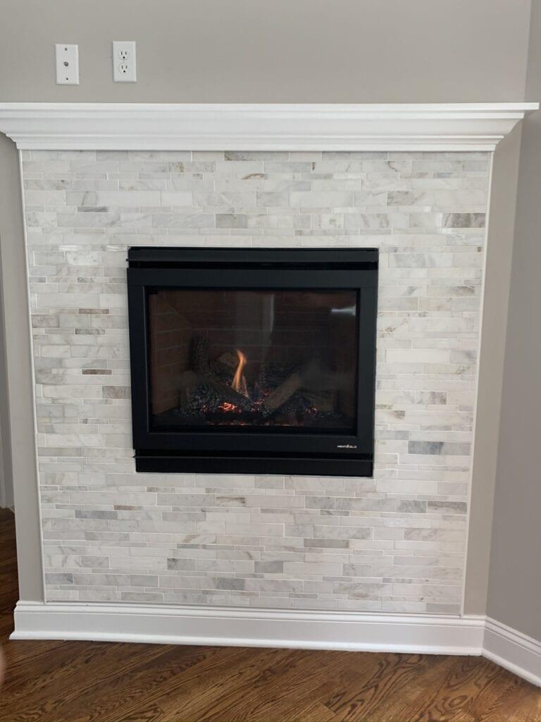Heat N Glo Slimline Direct Vent Fireplace