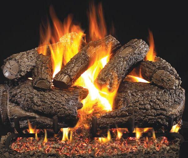 CHARRED FOREST OAK Fireplace Logs