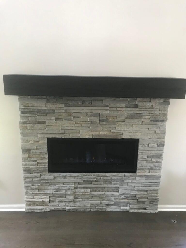 "Majestic Jade 42"" Linear Fireplace"