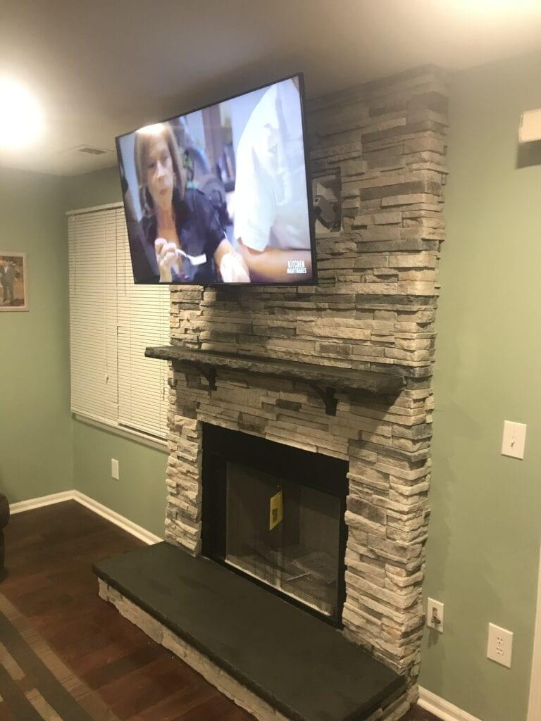 42 inch wood burning fireplace