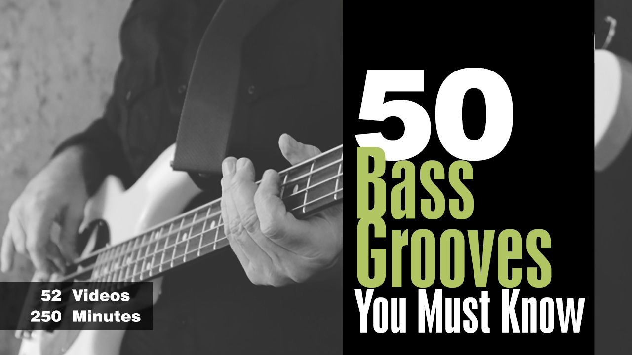 50 Bass Grooves You Must Know