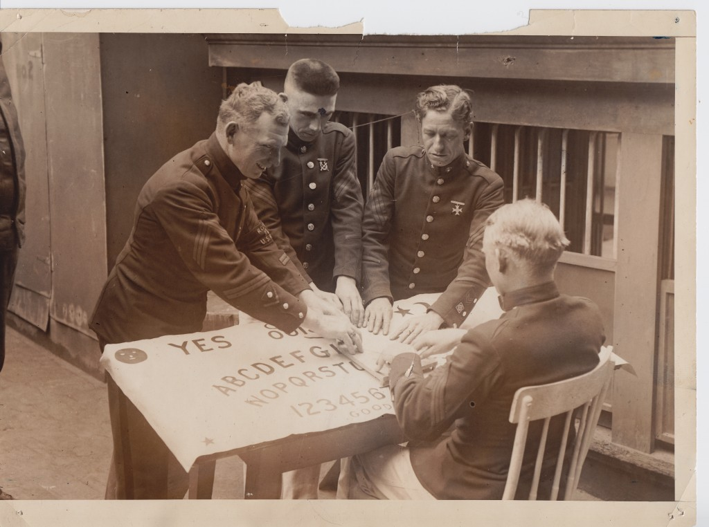 1921 Marines Play Ouija