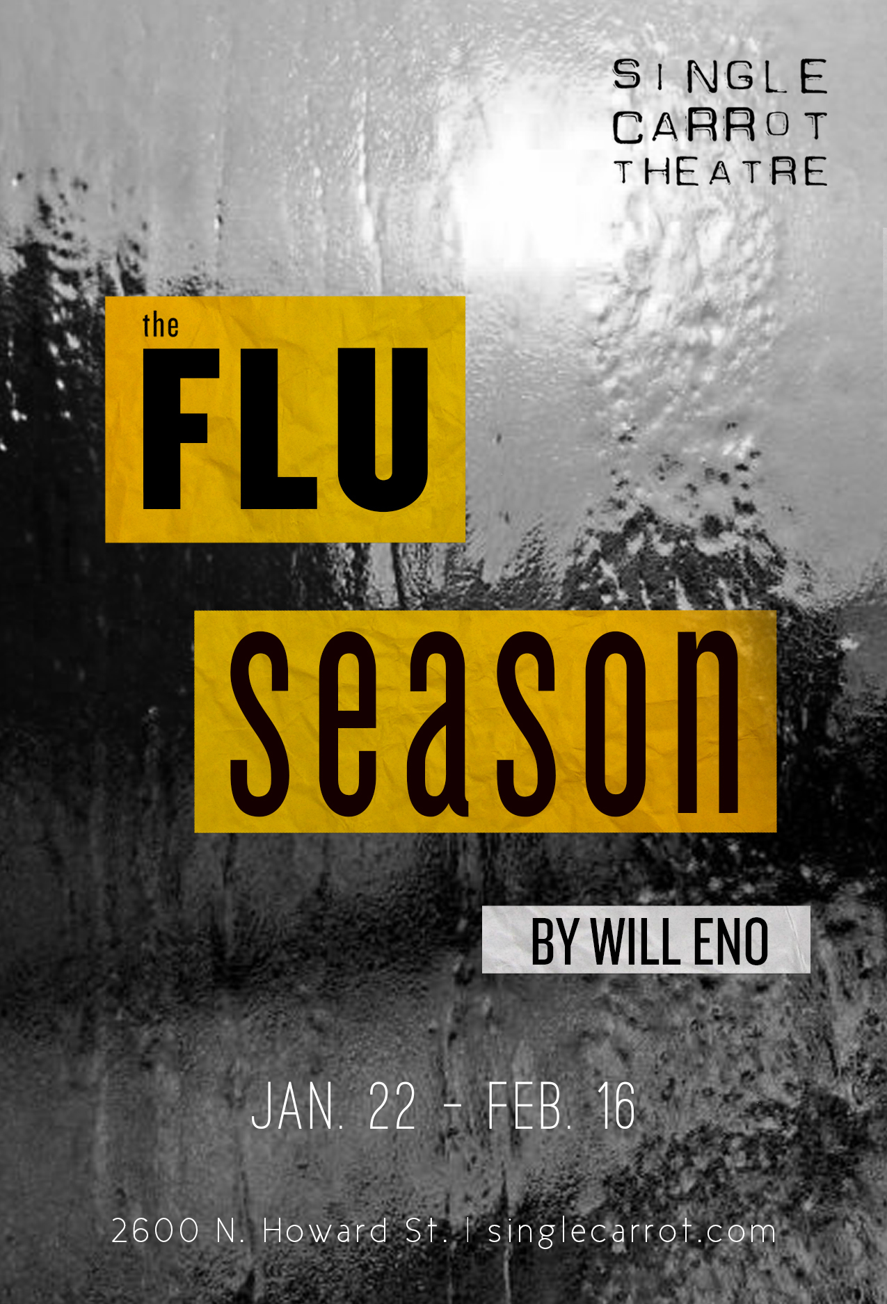 Flu Season poster for SCT // by Kaveh Haerian