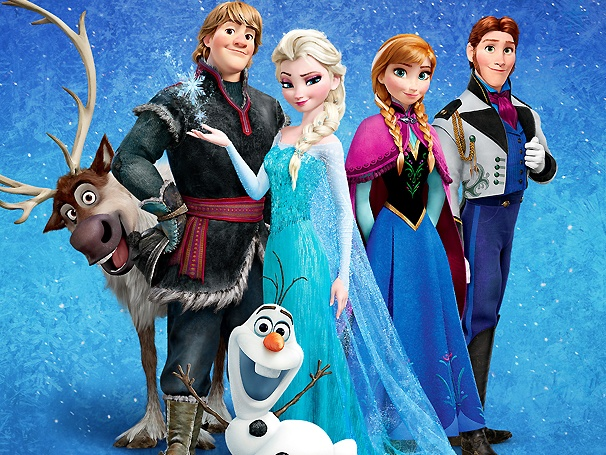 All caucasian characters in Disney's Frozen 2014