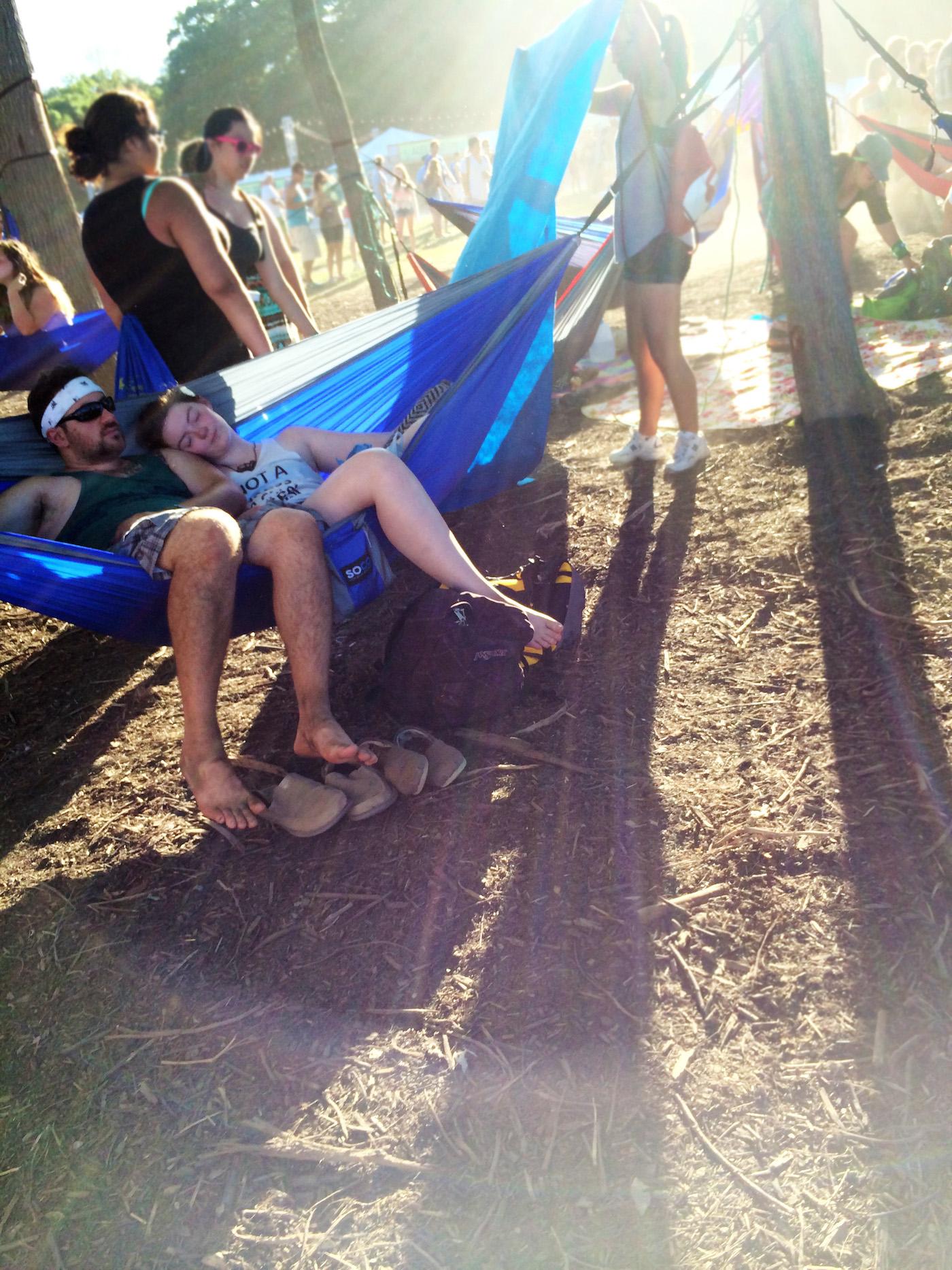 Hammock Hangout at Firefly