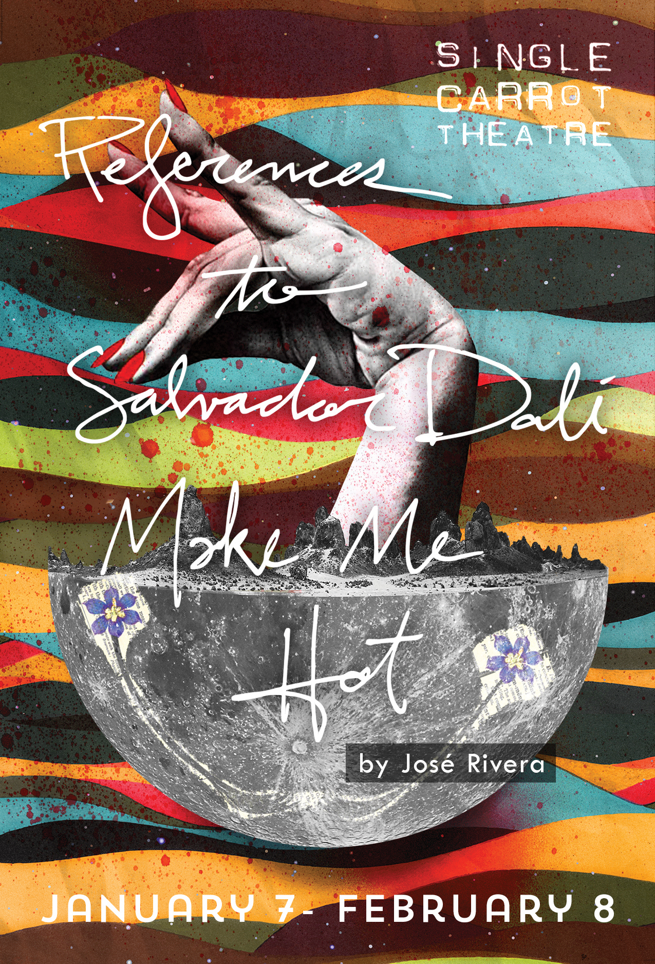 References to Salvador Dali Make Me Hot poster for SCT // by Kaveh Haerian