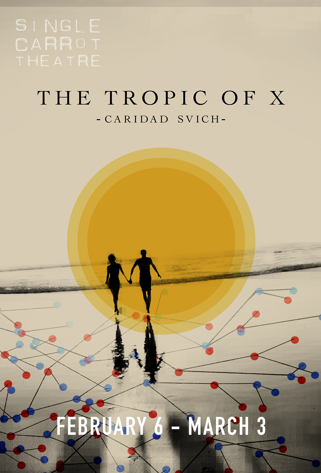 Tropic of X poster for SCT // by Kaveh Haerian