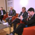 Pedro Cobo, Miguel Carbonell, Luis Carlos Ugalde y Gerardo Laveaga