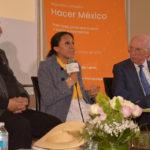 Fernando Nava, Teresita García y Jaime Labastida