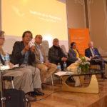 Antonio Paoli, Natalio Hernández, Jesús Silva-Herzog, Fernando Nava, Teresita García y Jaime Labastida