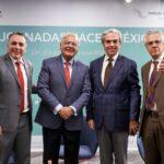 Avelino Meza, Héctor Martínez Castuera, Lorenzo Lazo y Gastón Melo