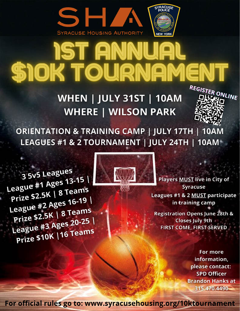 $10K Tournament Flyer