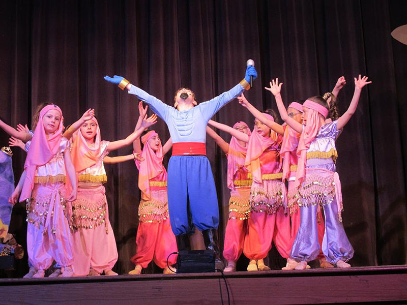Aladdin at Sowams