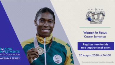 Photo of Talking Investments Webinar Series: Women in Focus with Caster Semenya