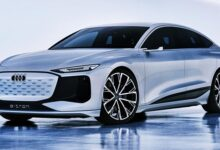 This Is The New 2022 Audi A6 E-tron Concept Car